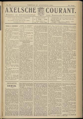 Axelsche Courant 1931-08-21