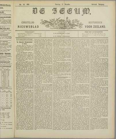 De Zeeuw. Christelijk-historisch nieuwsblad voor Zeeland 1898-12-17