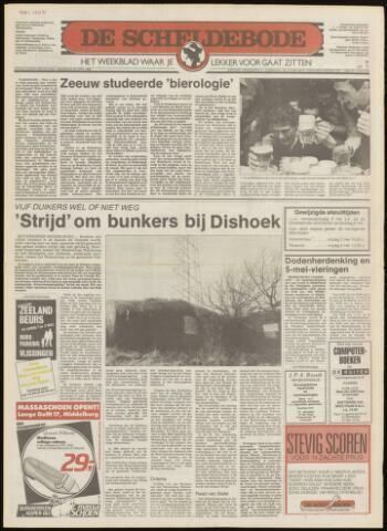 Scheldebode 1986-05-01