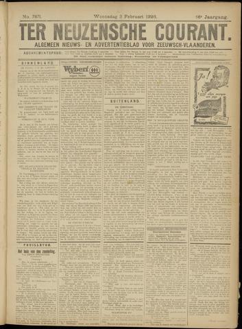 Ter Neuzensche Courant. Algemeen Nieuws- en Advertentieblad voor Zeeuwsch-Vlaanderen / Neuzensche Courant ... (idem) / (Algemeen) nieuws en advertentieblad voor Zeeuwsch-Vlaanderen 1926-02-03