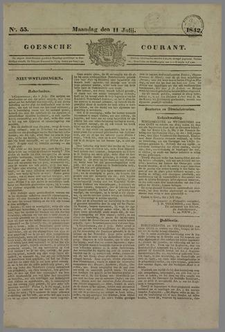 Goessche Courant 1842-07-11