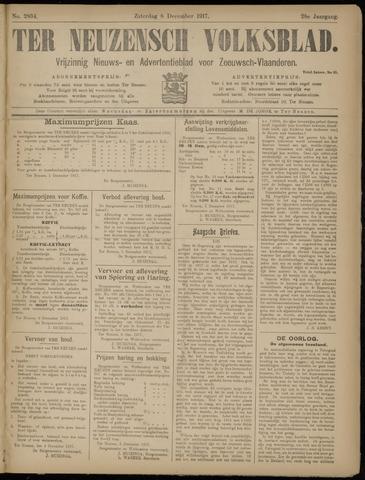 Ter Neuzensch Volksblad. Vrijzinnig nieuws- en advertentieblad voor Zeeuwsch- Vlaanderen / Zeeuwsch Nieuwsblad. Nieuws- en advertentieblad voor Zeeland 1917-12-08