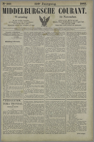 Middelburgsche Courant 1883-11-14