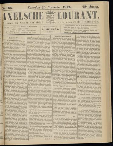 Axelsche Courant 1912-11-23