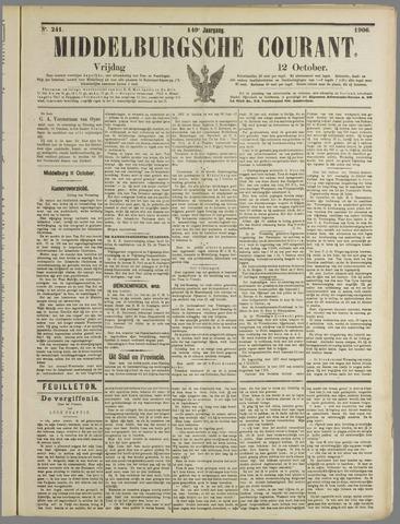 Middelburgsche Courant 1906-10-12