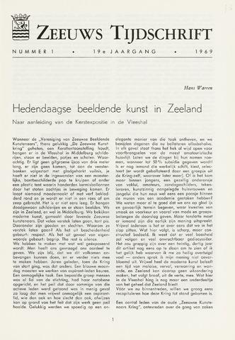 Zeeuws Tijdschrift 1969-01-01