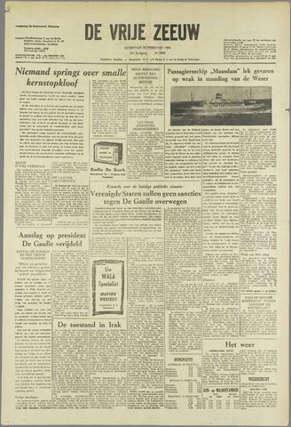 de Vrije Zeeuw 1963-02-16