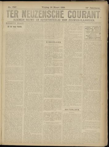 Ter Neuzensche Courant. Algemeen Nieuws- en Advertentieblad voor Zeeuwsch-Vlaanderen / Neuzensche Courant ... (idem) / (Algemeen) nieuws en advertentieblad voor Zeeuwsch-Vlaanderen 1924-03-28