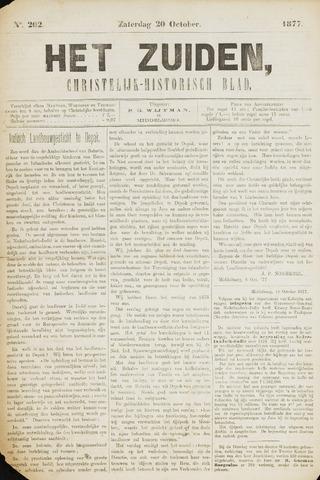 Het Zuiden, Christelijk-historisch blad 1877-10-20