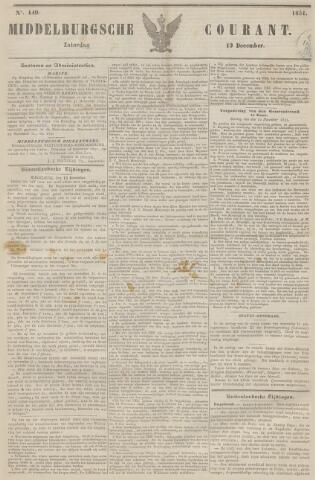 Middelburgsche Courant 1851-12-13