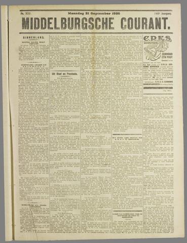 Middelburgsche Courant 1925-09-21