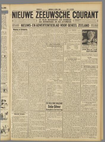 Nieuwe Zeeuwsche Courant 1932-04-12