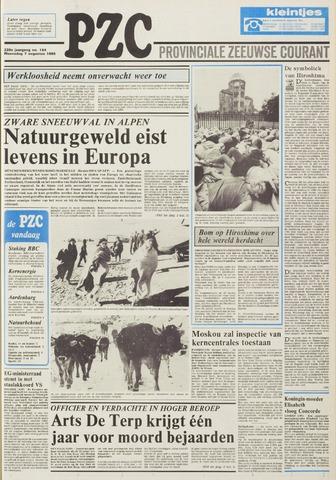 Provinciale Zeeuwse Courant 1985-08-07