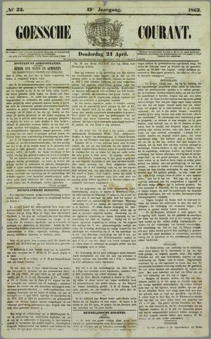Goessche Courant 1862-04-24