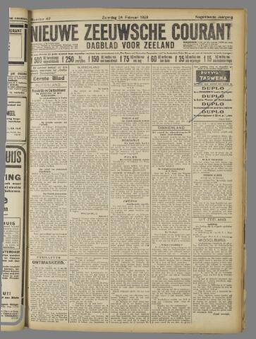 Nieuwe Zeeuwsche Courant 1923-02-24