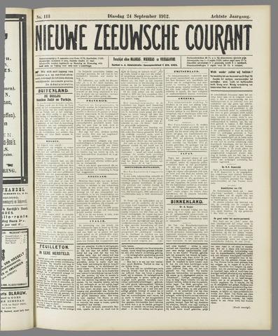 Nieuwe Zeeuwsche Courant 1912-09-24