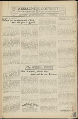 Axelsche Courant 1950-10-07