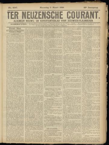 Ter Neuzensche Courant. Algemeen Nieuws- en Advertentieblad voor Zeeuwsch-Vlaanderen / Neuzensche Courant ... (idem) / (Algemeen) nieuws en advertentieblad voor Zeeuwsch-Vlaanderen 1929-03-11