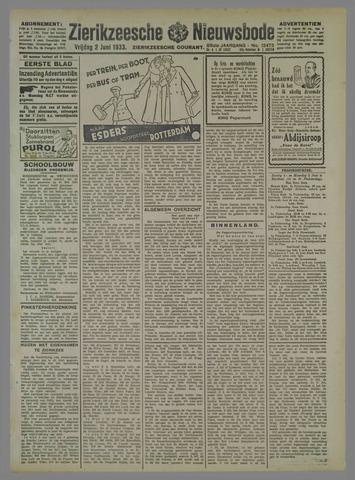Zierikzeesche Nieuwsbode 1933-06-02