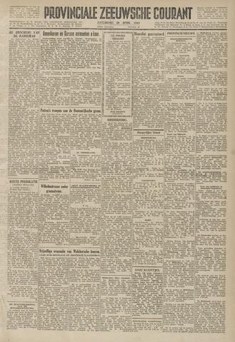 Provinciale Zeeuwse Courant 1945-04-28