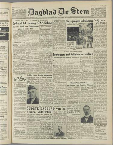 de Stem 1950-03-25