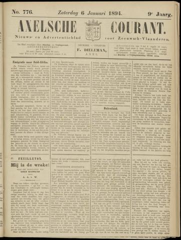 Axelsche Courant 1894-01-06