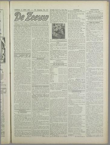 De Zeeuw. Christelijk-historisch nieuwsblad voor Zeeland 1943-06-11
