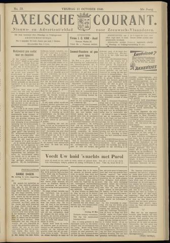 Axelsche Courant 1940-10-11