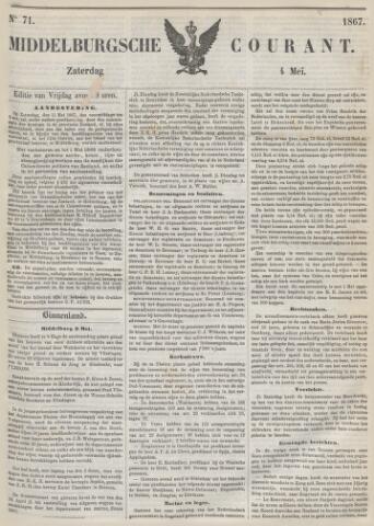 Middelburgsche Courant 1867-05-04