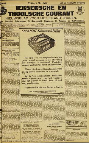 Ierseksche en Thoolsche Courant 1928-05-04