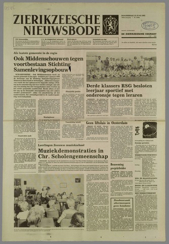 Zierikzeesche Nieuwsbode 1983-06-23
