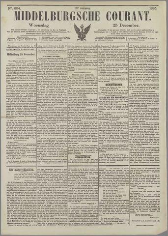 Middelburgsche Courant 1895-12-25