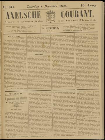 Axelsche Courant 1894-12-08