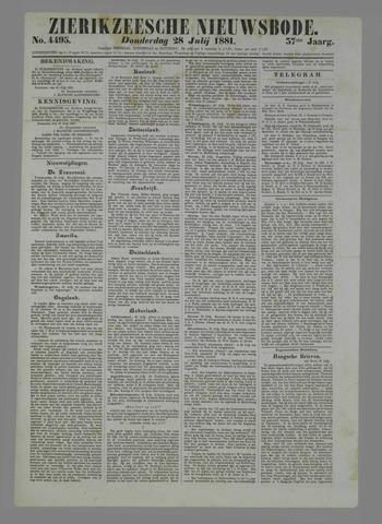 Zierikzeesche Nieuwsbode 1881-07-28