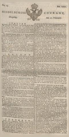 Middelburgsche Courant 1771-02-12