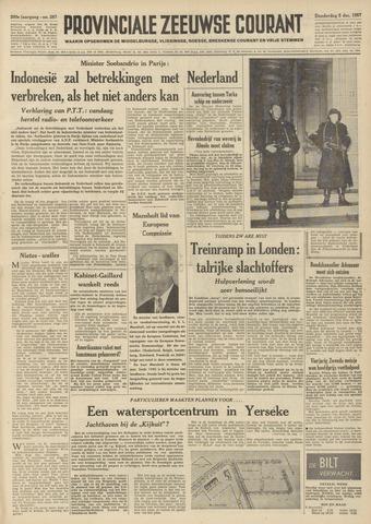 Provinciale Zeeuwse Courant 1957-12-05