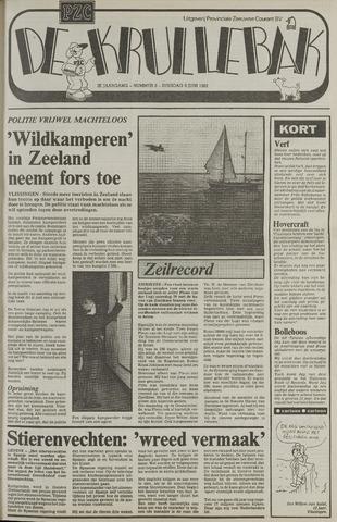 Provinciale Zeeuwse Courant katern Krullenbak (1981-1999) 1982-06-08