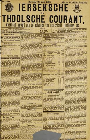 Ierseksche en Thoolsche Courant 1908-06-20