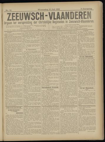 Luctor et Emergo. Antirevolutionair nieuws- en advertentieblad voor Zeeland / Zeeuwsch-Vlaanderen. Orgaan ter verspreiding van de christelijke beginselen in Zeeuwsch-Vlaanderen 1918-07-31