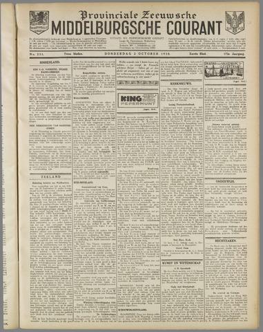 Middelburgsche Courant 1930-10-02