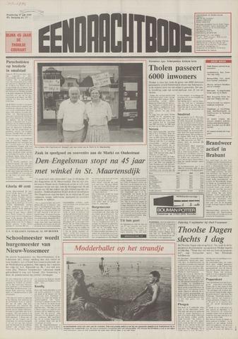 Eendrachtbode (1945-heden)/Mededeelingenblad voor het eiland Tholen (1944/45) 1989-07-27