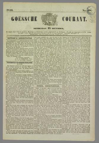 Goessche Courant 1853-12-15