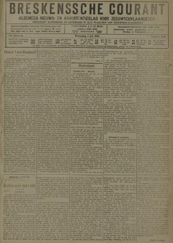 Breskensche Courant 1929-07-03