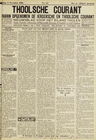 Ierseksche en Thoolsche Courant 1938-11-04