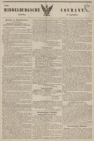 Middelburgsche Courant 1852-09-11