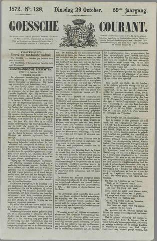 Goessche Courant 1872-10-29