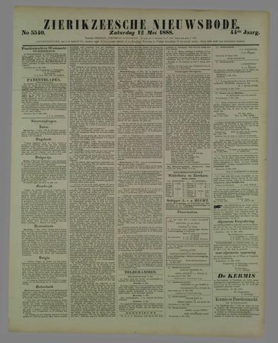 Zierikzeesche Nieuwsbode 1888-05-12