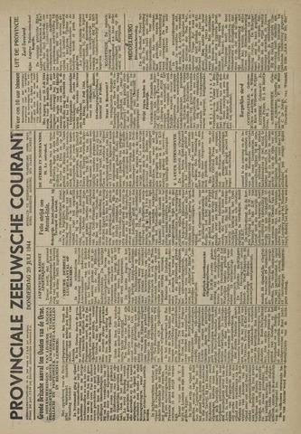 Provinciale Zeeuwse Courant 1944-07-20