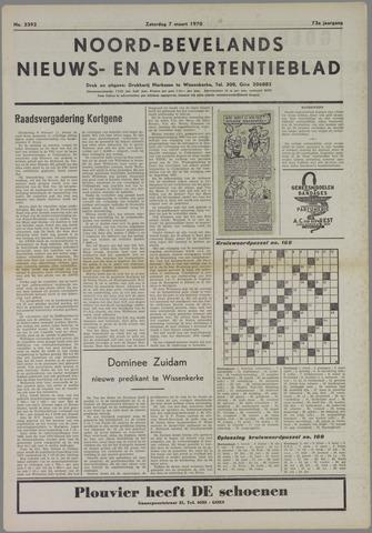 Noord-Bevelands Nieuws- en advertentieblad 1970-03-07