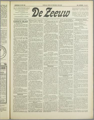 De Zeeuw. Christelijk-historisch nieuwsblad voor Zeeland 1934-05-31